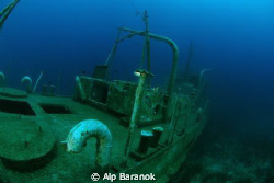 SG-115 ship wreck @ Bodrum/Turkiye. by Alp Baranok 